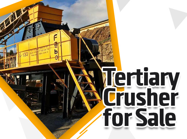 Tertiary Crusher For Sale