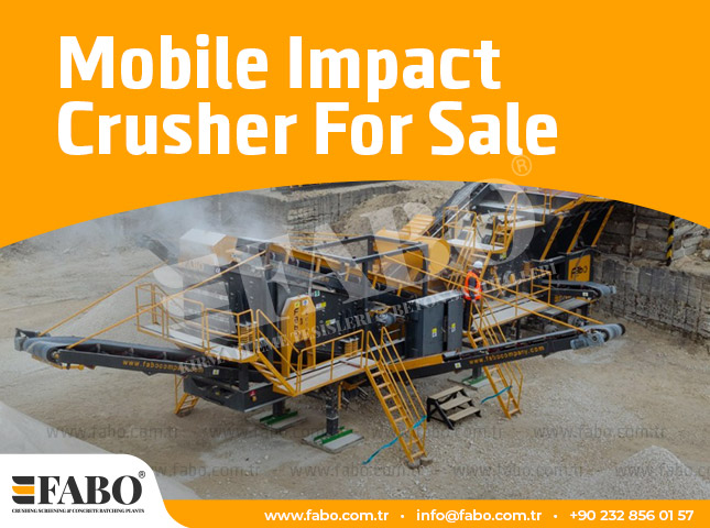 Mobile Impact Crusher For Sale