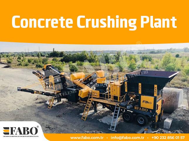 Concrete Crushing Plant