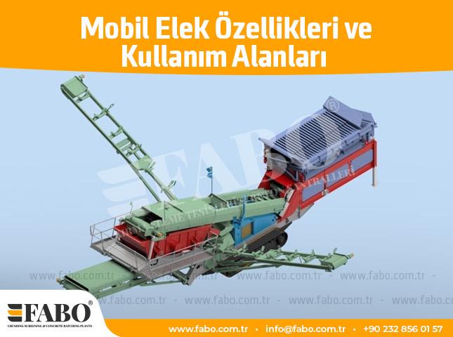 Mobil Elek Özellikleri ve Kullanım Alanları