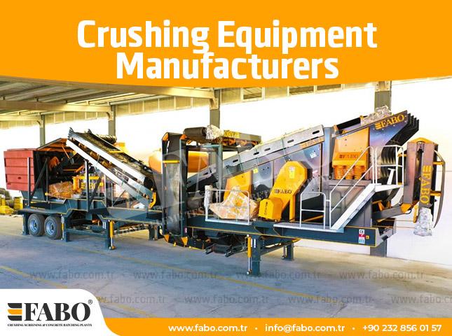 Crushing Equipment Manufacturers