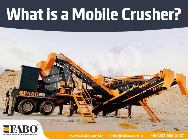 What is A Mobile Crusher?