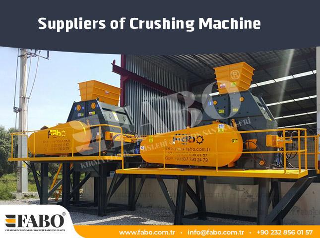 Suppliers of Crushing Machine