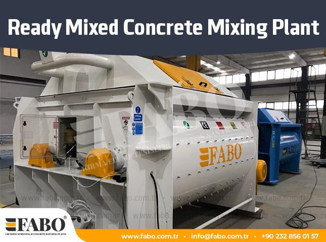 Ready Mixed Concrete Mixing Plant