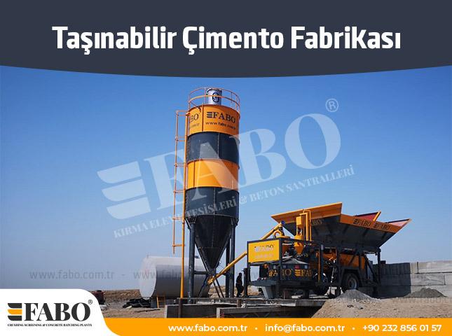 Taşınabilir Çimento Fabrikası