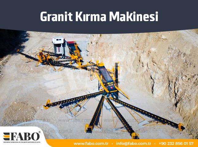 Granit Kırma Makinesi