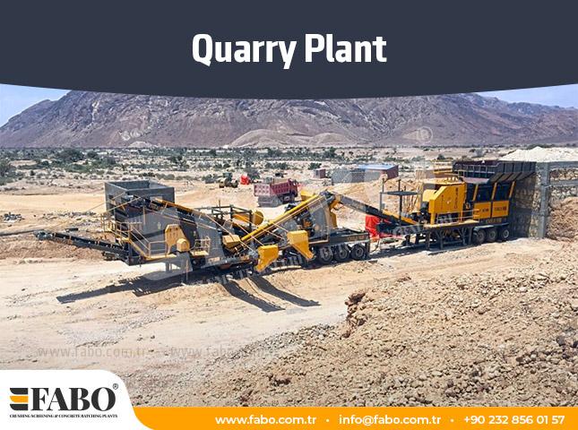 Quarry Plant