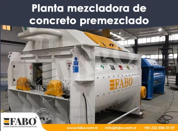 Planta mezcladora de concreto premezclado