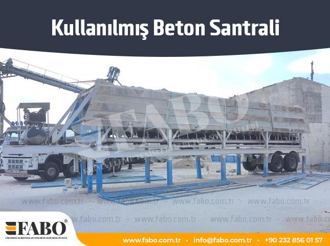 Kullanılmış Beton Santrali