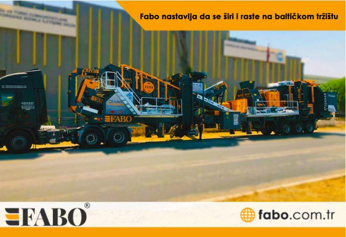 Fabo nastavlja da se širi i raste na baltičkom tržištu