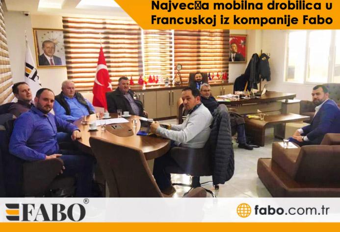Najveća mobilna drobilica u Francuskoj iz kompanije Fabo
