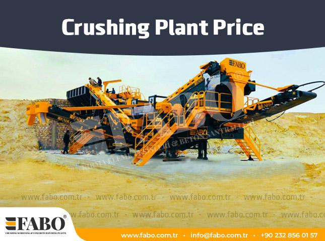 Crushing Plant Price