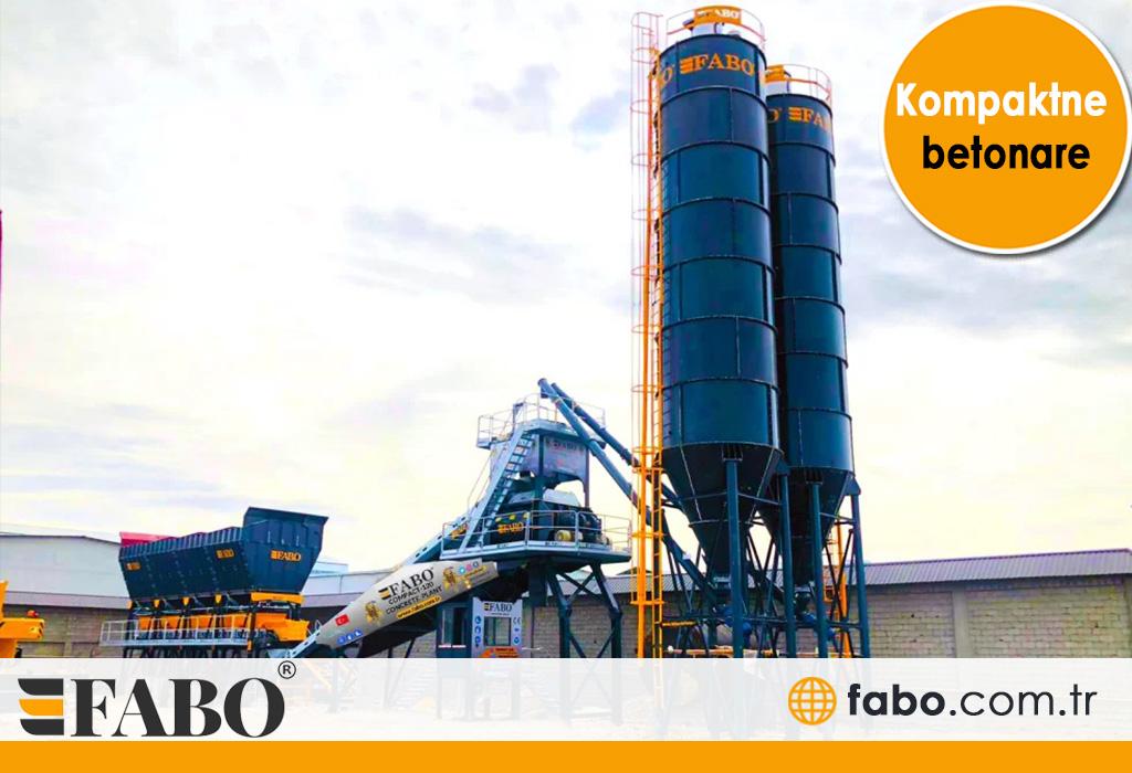 Бетонный завод с типом конвейера