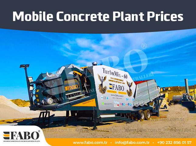 Mobile Concrete Plant Prices